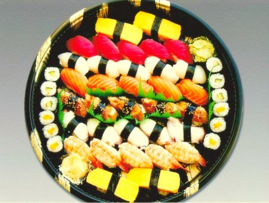 Sushi Plate #C